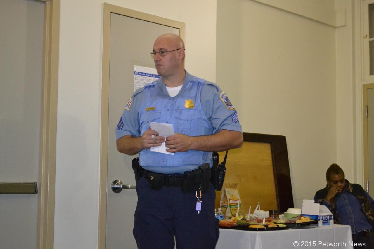 PSA 407 Sergeant Schaut