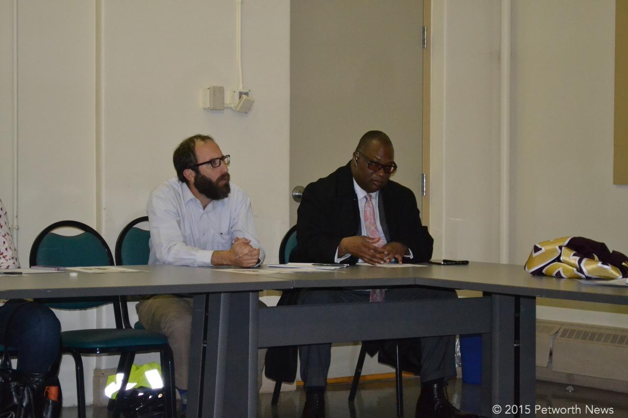 ANC 4C Commissioners Zach Teutsch and Vann-Di Galloway