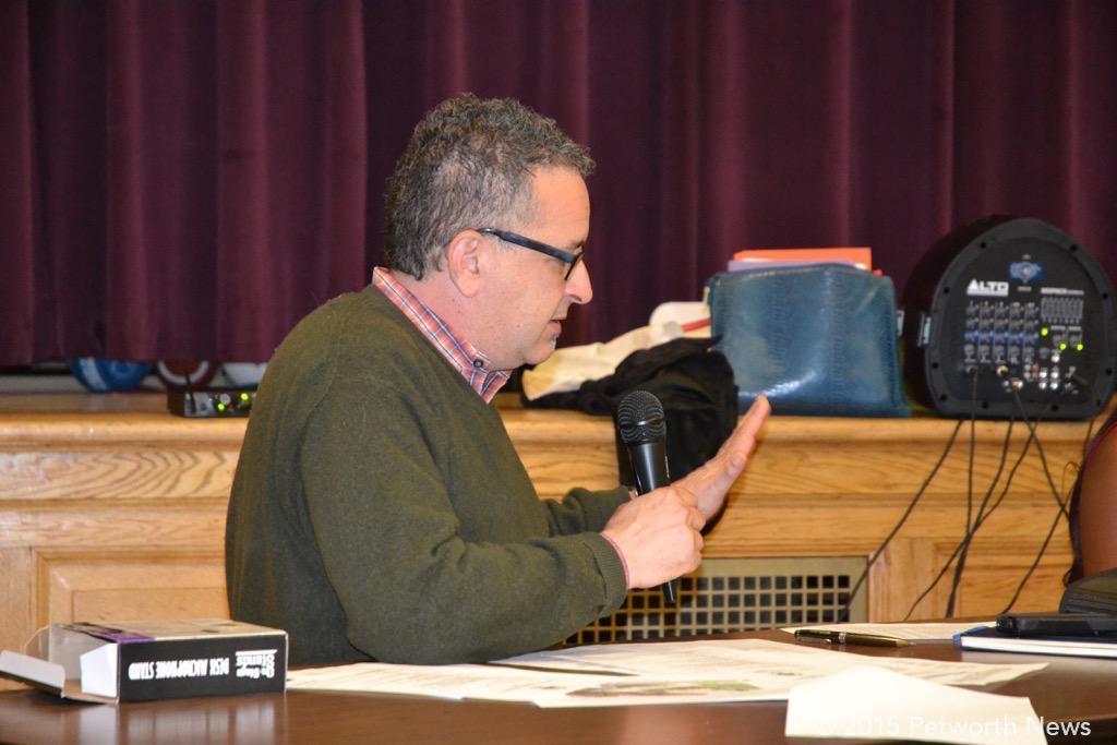 Commissioner David Sheon