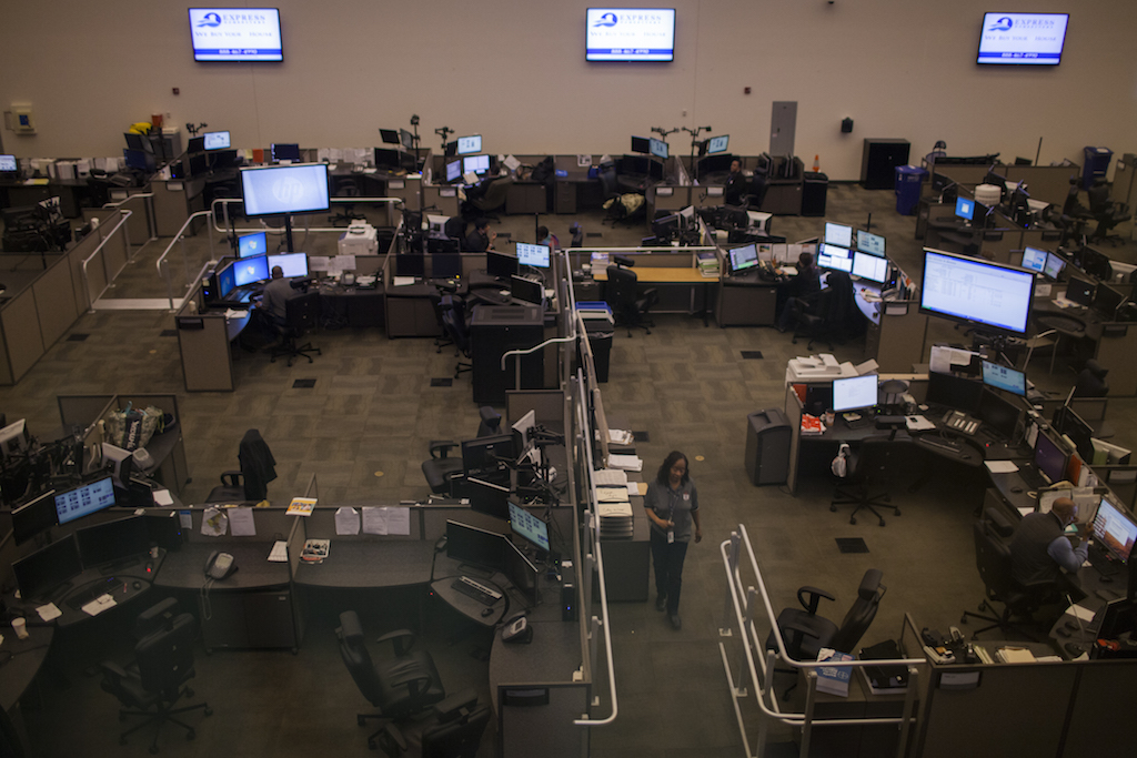 OUC 911/311 call center (photo: Washington Post)