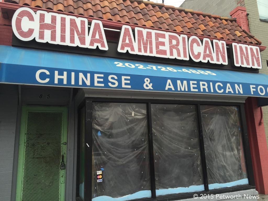 The current China American Inn, soon to be Alfie's