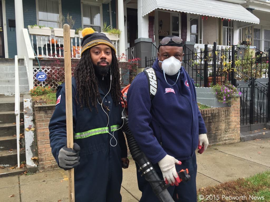 Edward and Jerry, from DPW.