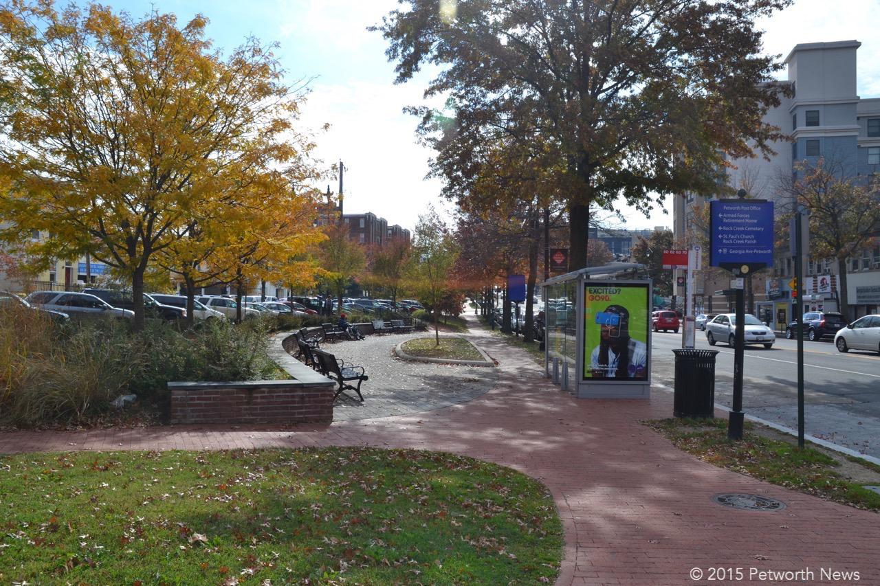 The park at 9th and Upshur, Taylor and Georgia Avenue.