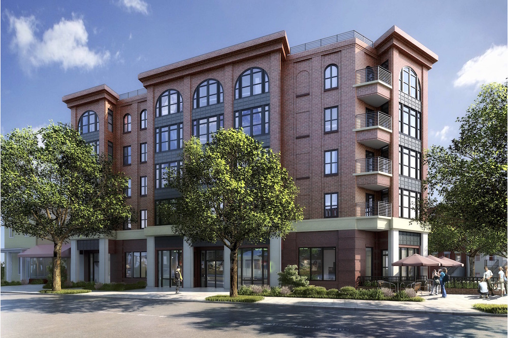 Rendering of the new apartment building at 3701 New Hampshire Ave  (photo: PGN Architects)