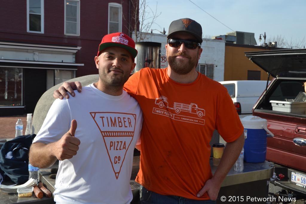 Timber Pizza owners, Andrew Dana and Chris Brady