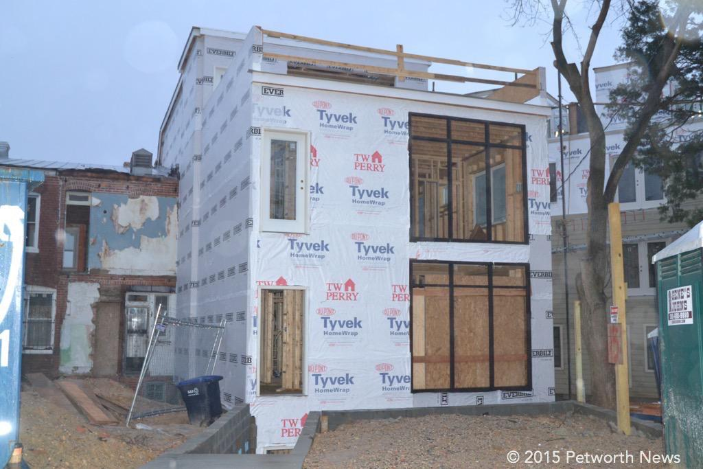 Pop-back renovation on Grant Circle in Petworth