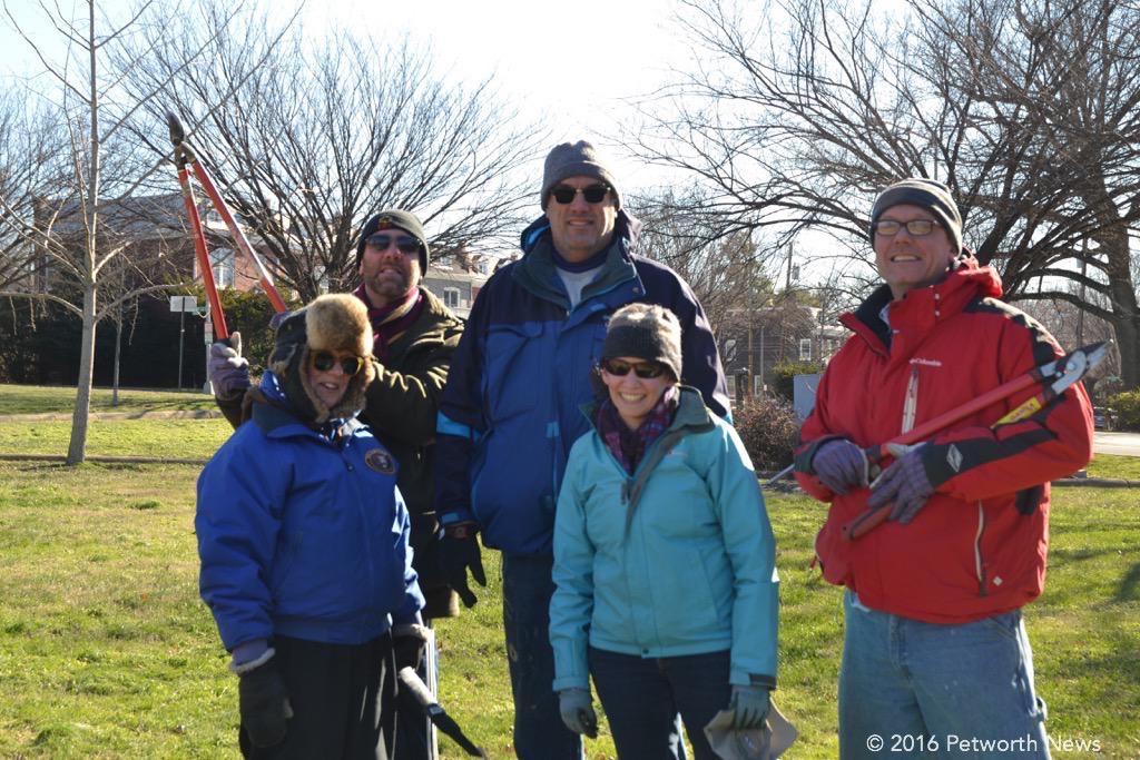 Carol Herwig (organizer), Joe Lumpkin,Tom Woodruff, Alexis Gutierrez and Kevin Morton.