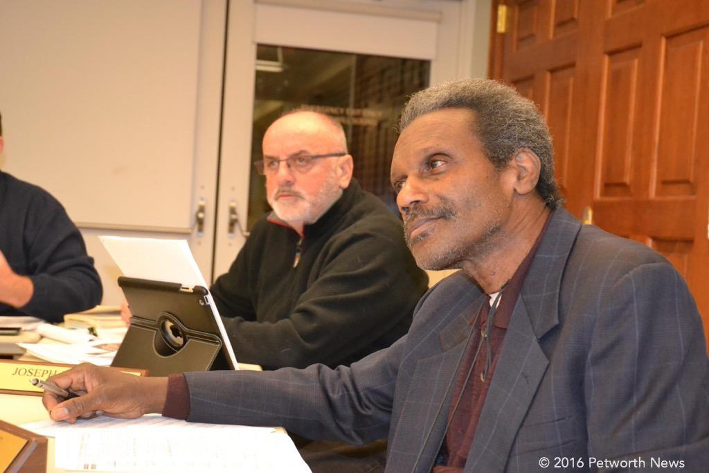 Timothy Jones (front), Joe Martin (back)