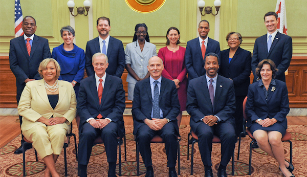 Current line-up of the DC Council. Who will stay, who will go in the upcoming election?