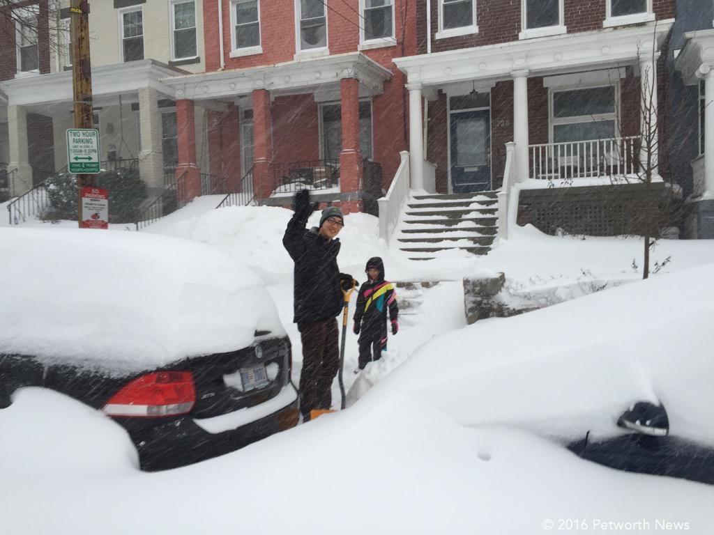 Getting to the shoveling.