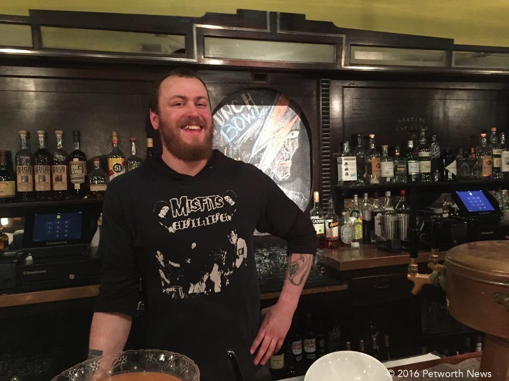 Jeremy, Petworth Citizen bartender