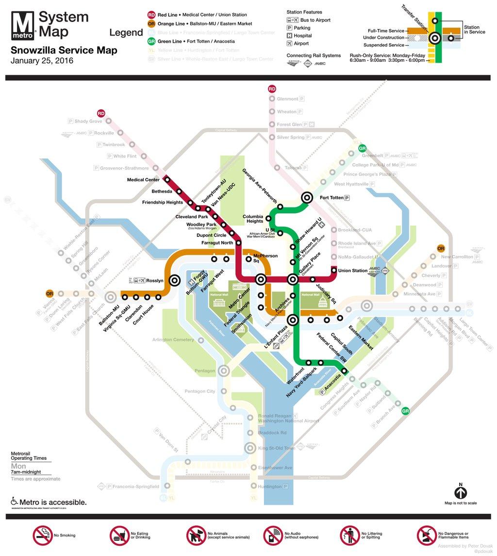 """""""Snowzilla Service Map"""" courtesy  Peter Dovak on Twitter"""