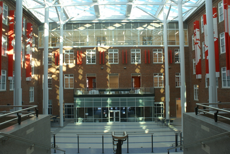 Interior of Roosevelt High School (photo: DCPS)