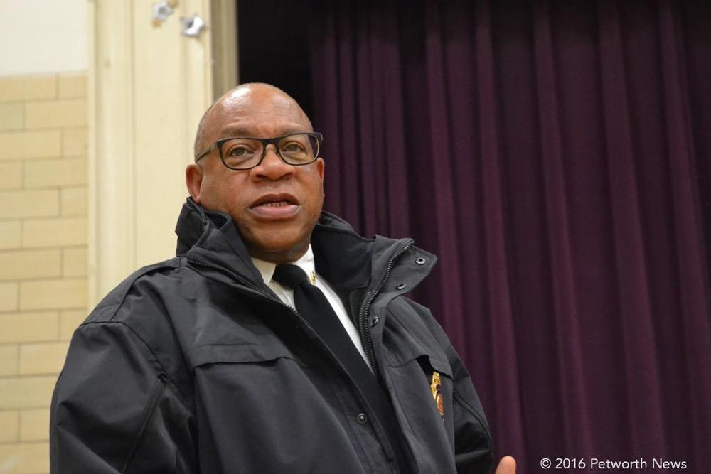 DC Fire/EMS Chief Gregory Dean