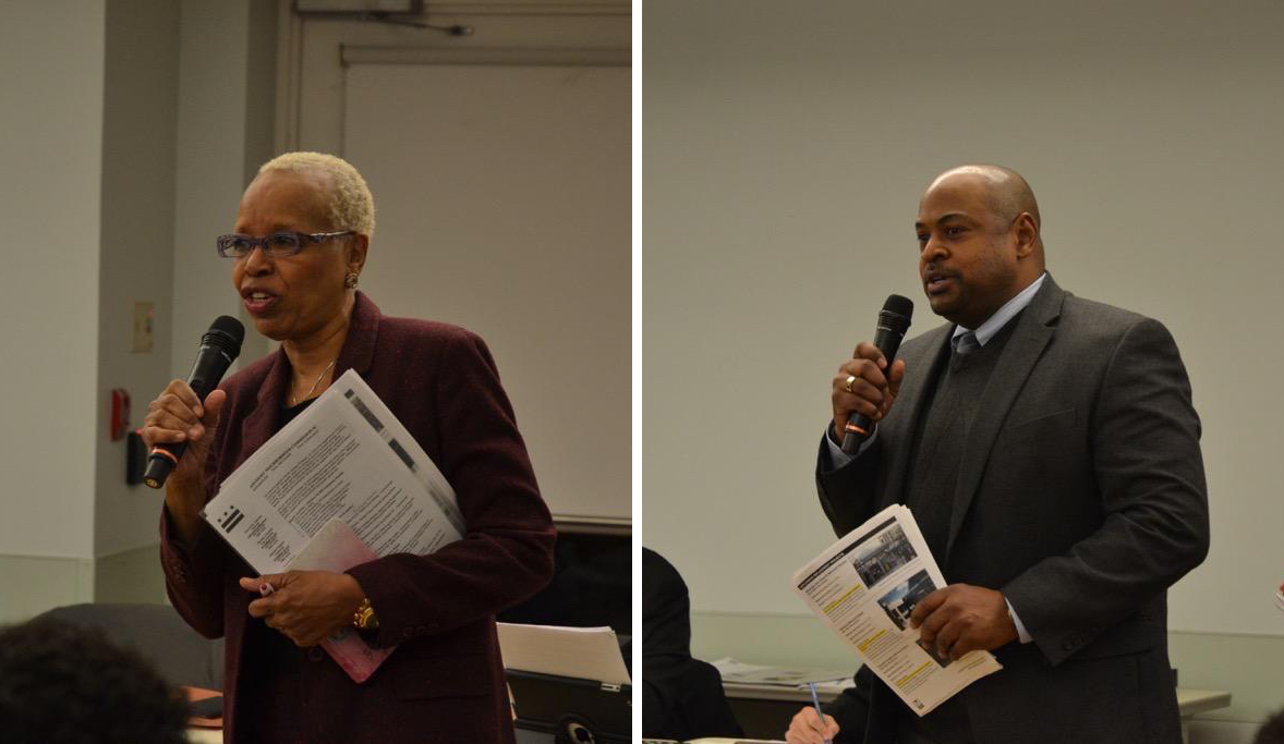 Ann Chisolm and Cedric Watson from WMATA