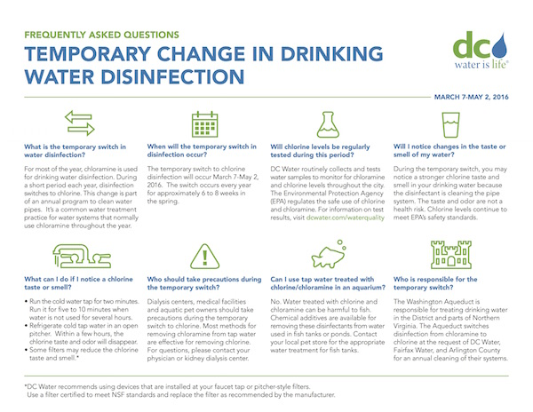 View a PDF from DC Water of Frequently Asked Questions
