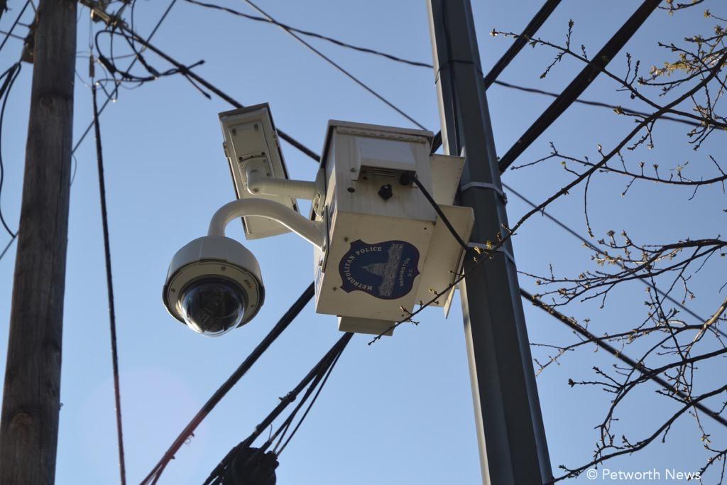 MPD camera at 8th & Jefferson
