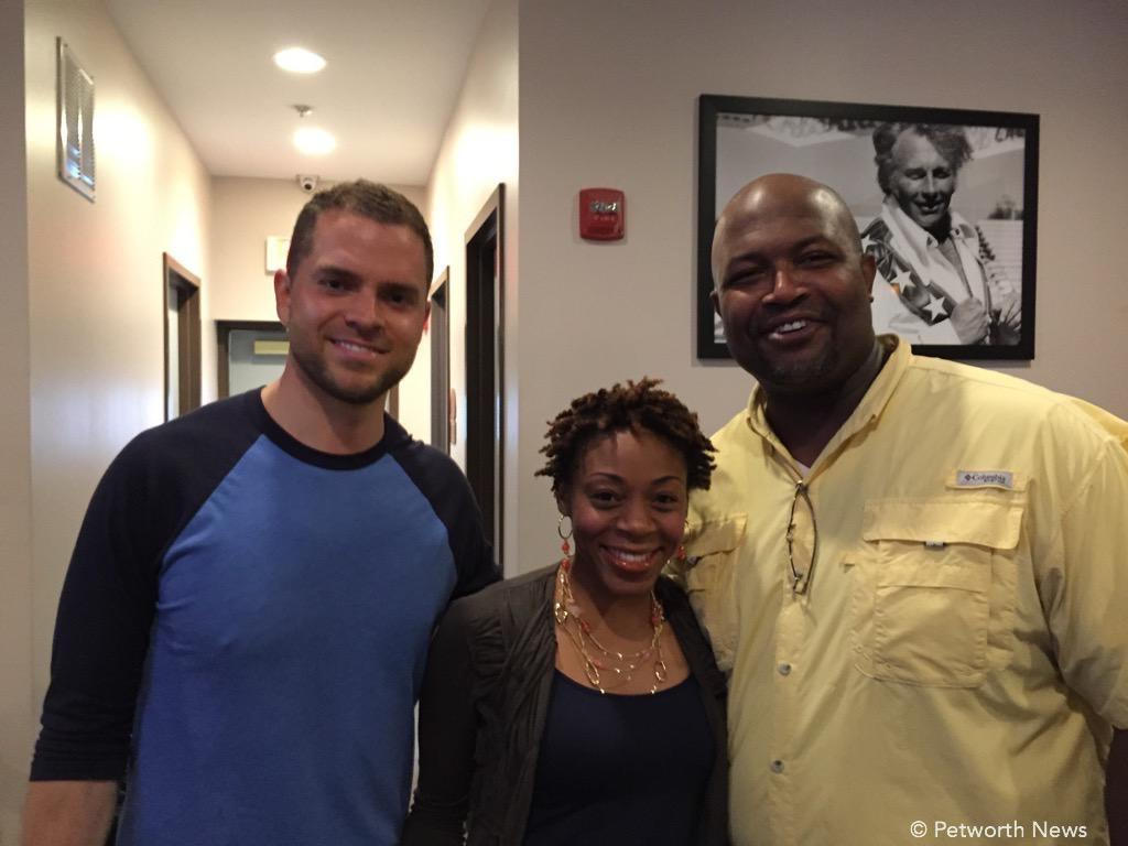 David Garber, Kristine and Leon Andrews