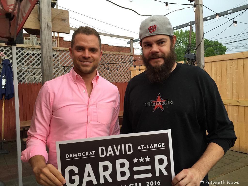 David Garber and Jeremy Gifford, owner of DC Reynolds