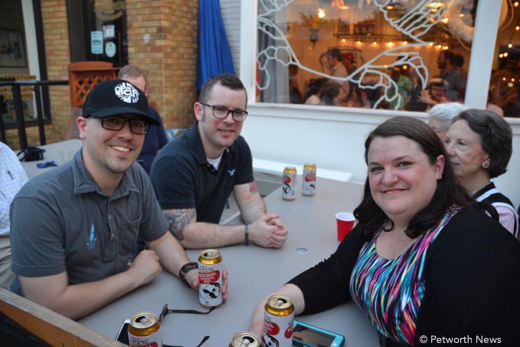 Slim's Diner Chef Chris Beasley, souz chef Jeremy Riley and baker Liza Moran.