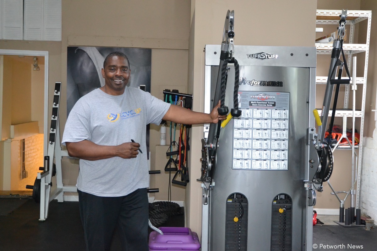 Cregory Boatwright, owner & trainer at Level Up.