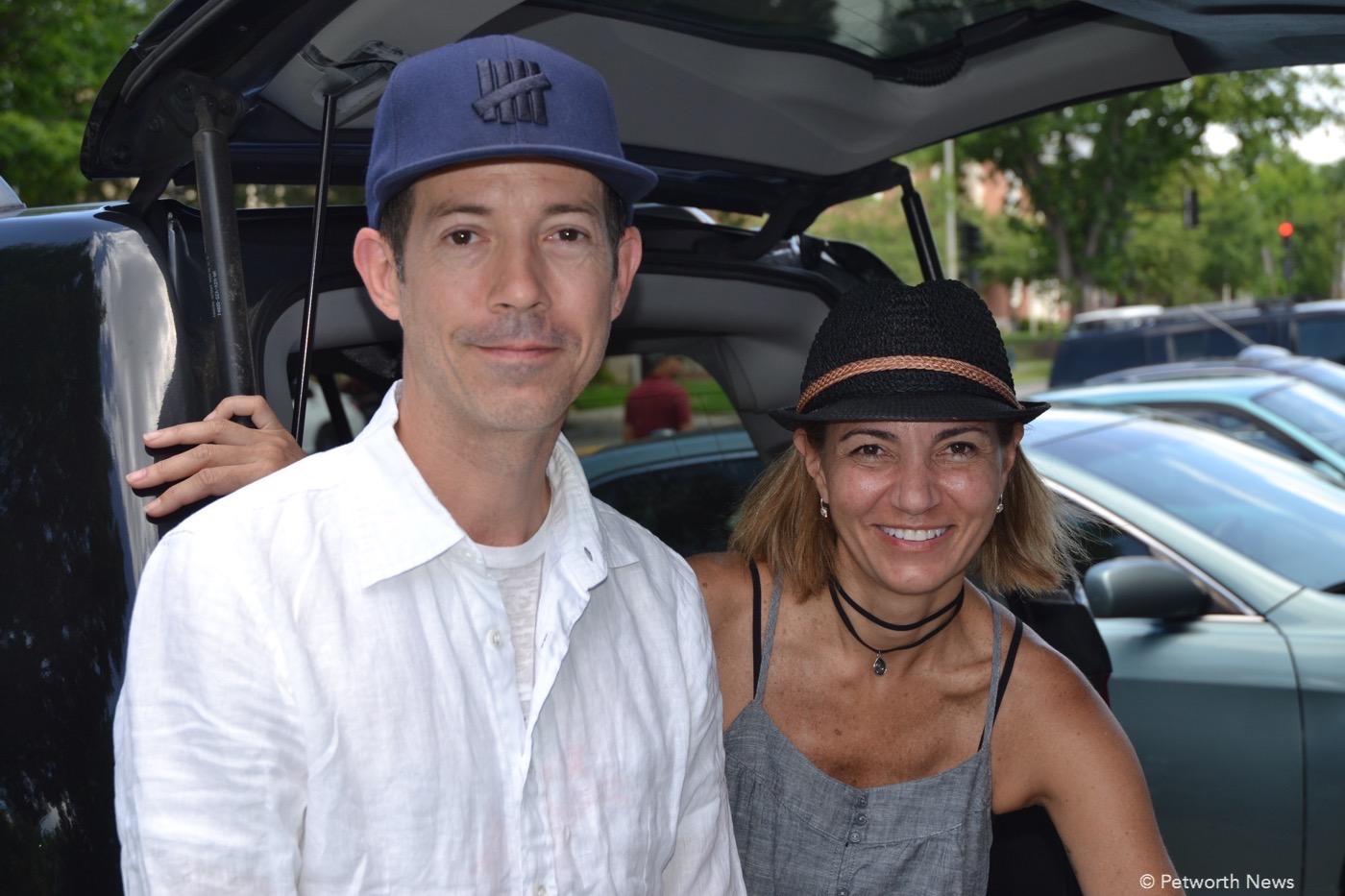 Tom Pipkin and Roberta Pardo