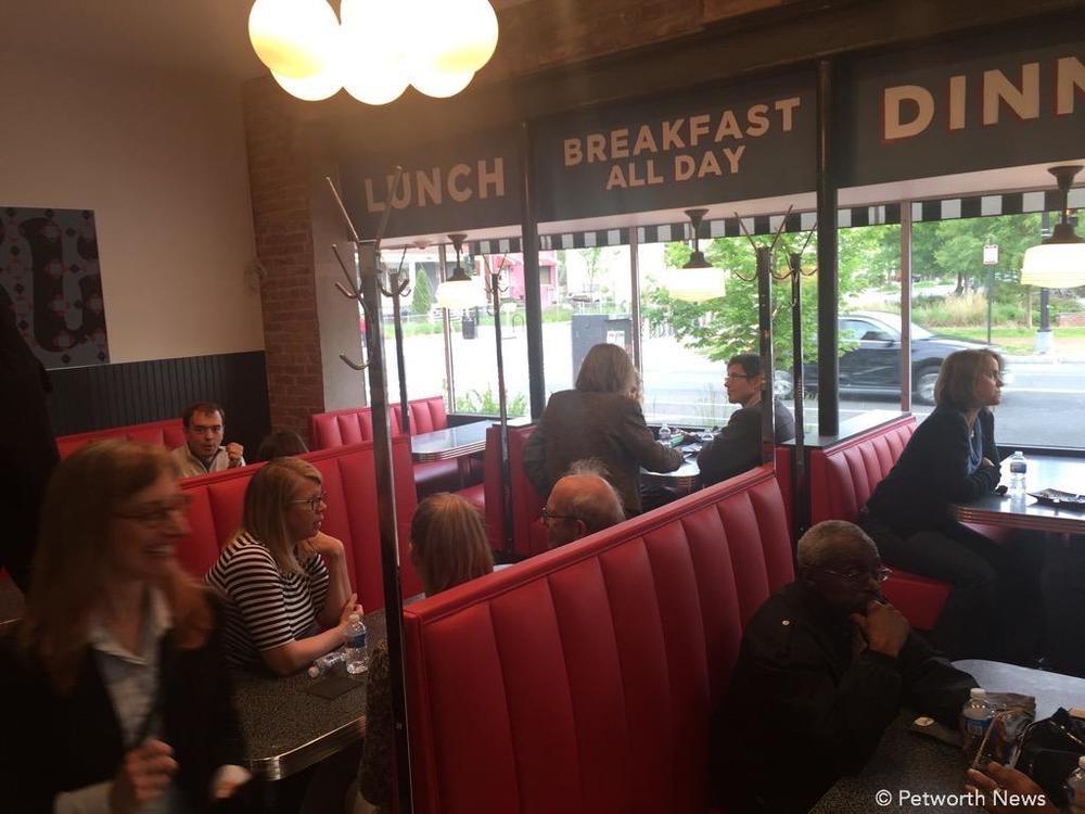 Slim's Diner on Upshur Street & Georgia Avenue NW