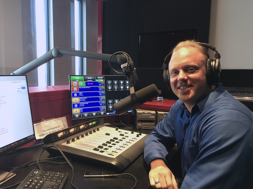 Brian Nelson-Palmer, who runs DC Music Rocks on WERA 96.7 FM (photo: BNP)