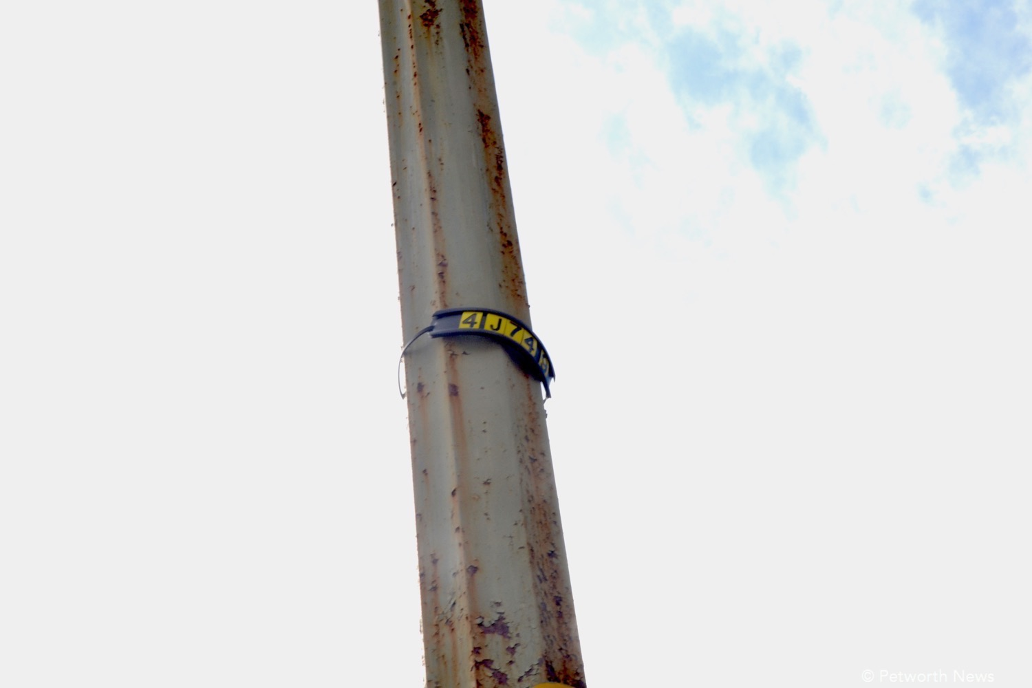 If needed, look for the specific number on each pole.