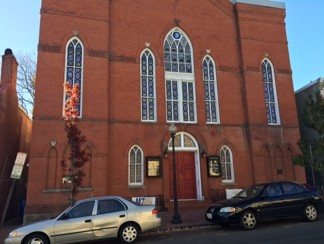 Mt Zion AME, a 200 year old church on 29th Street in Georgetown