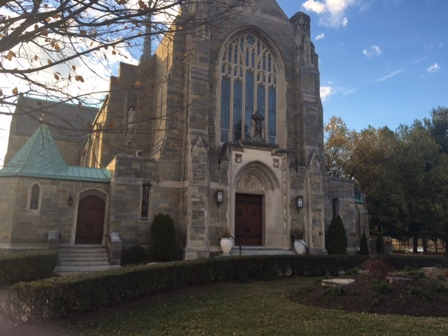 St. Gabriel Catholic Church on Grant Circle in Petworth, built in 1930