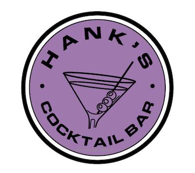 New logo for Hank's Cocktail Bar