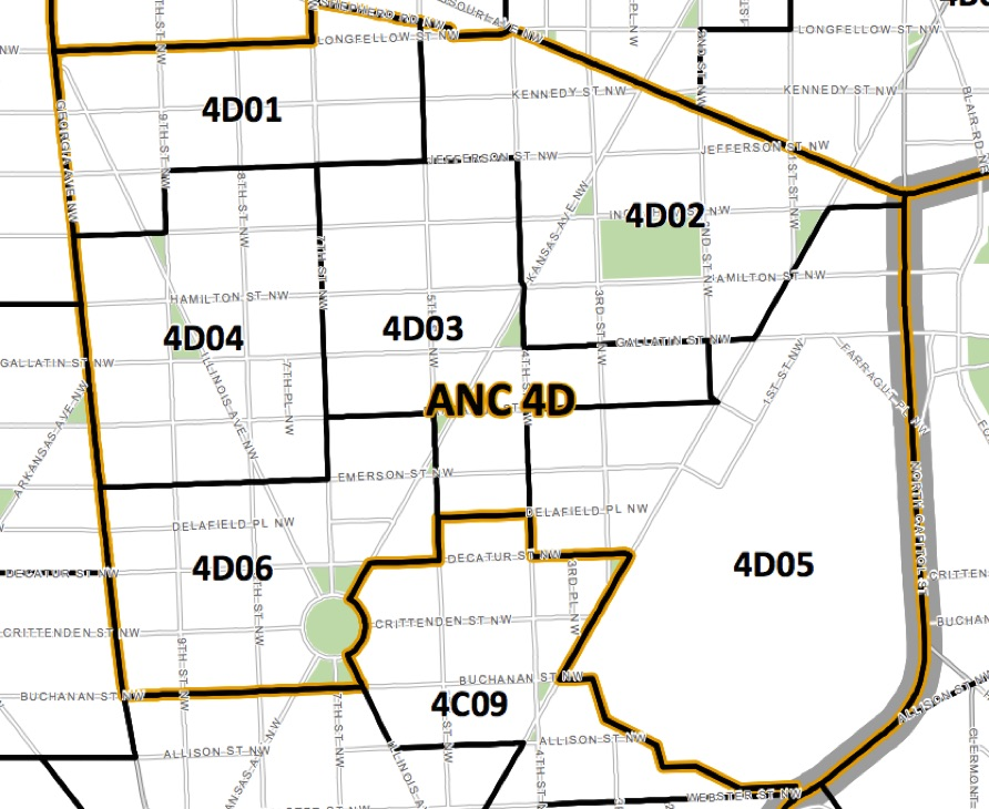 Map of ANC 4D
