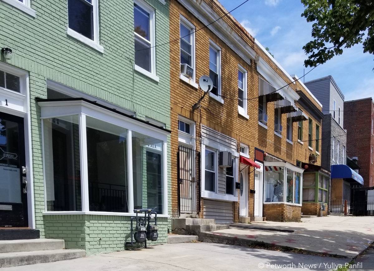 The 200 block of Upshur St NW isn't seeing the same type of development and growth as the 800 block.