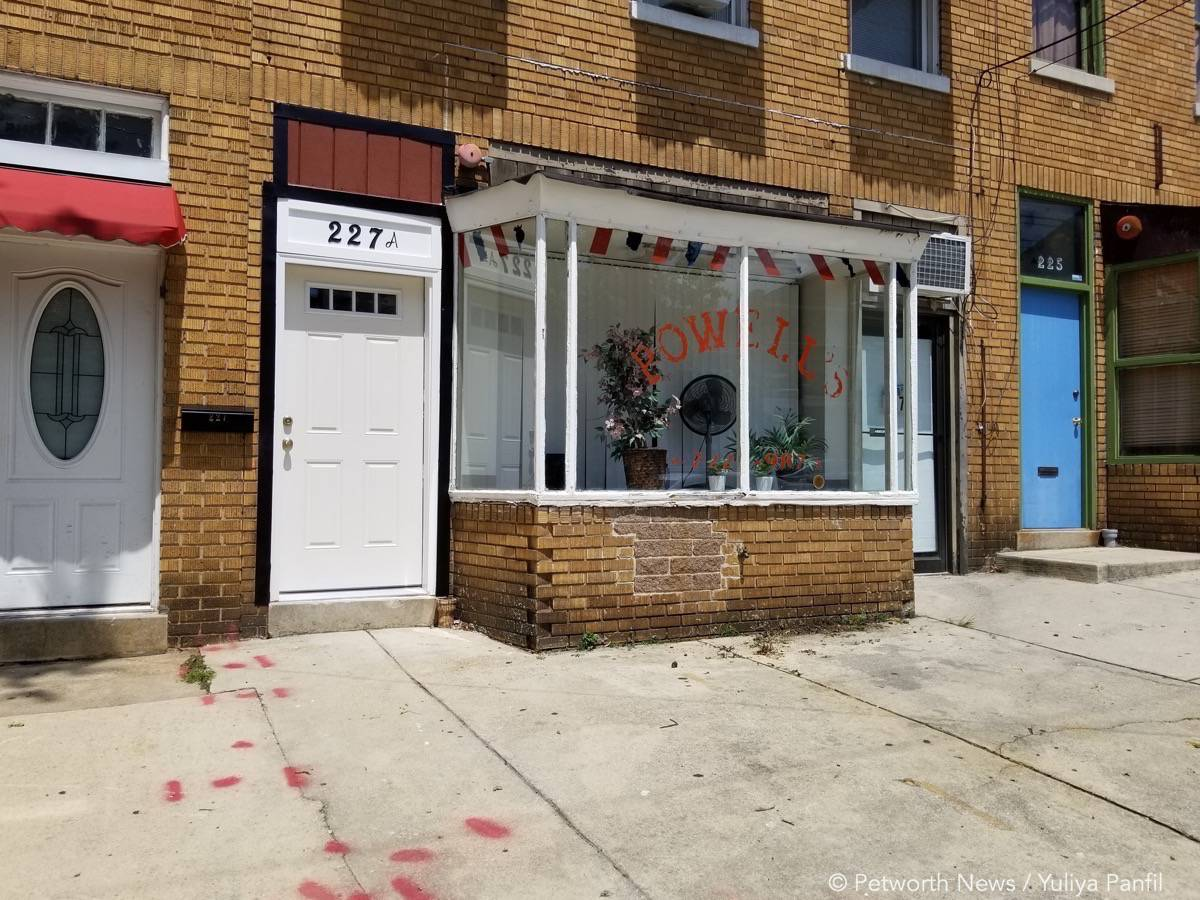 Powell's Barber Shop at 227 Upshur St NW