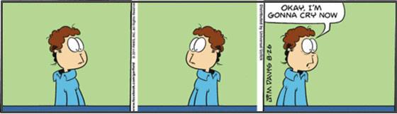 Where did Garfield go?