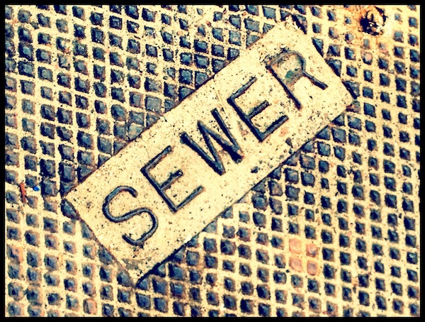 Who's responsible for a backed up sewer line?(photo:  Damian Gadal )