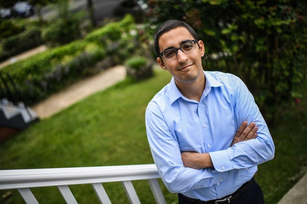 Aaron Seyedain (photo: Salwan Georges/The Washington Post)