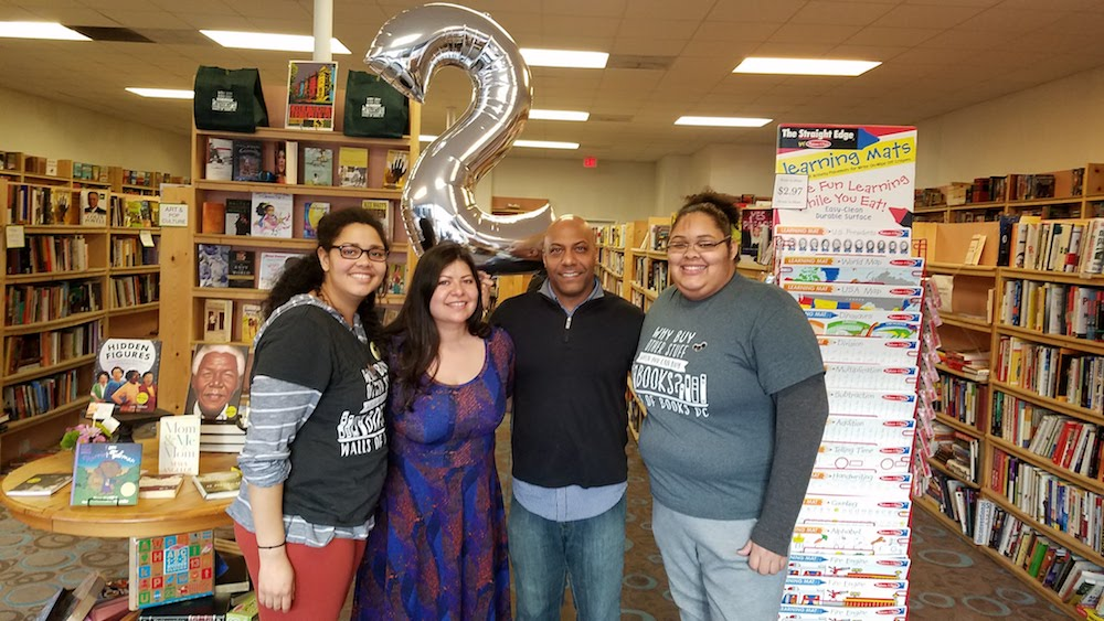 Walls of Books just celebrated its 2nd Birthday.
