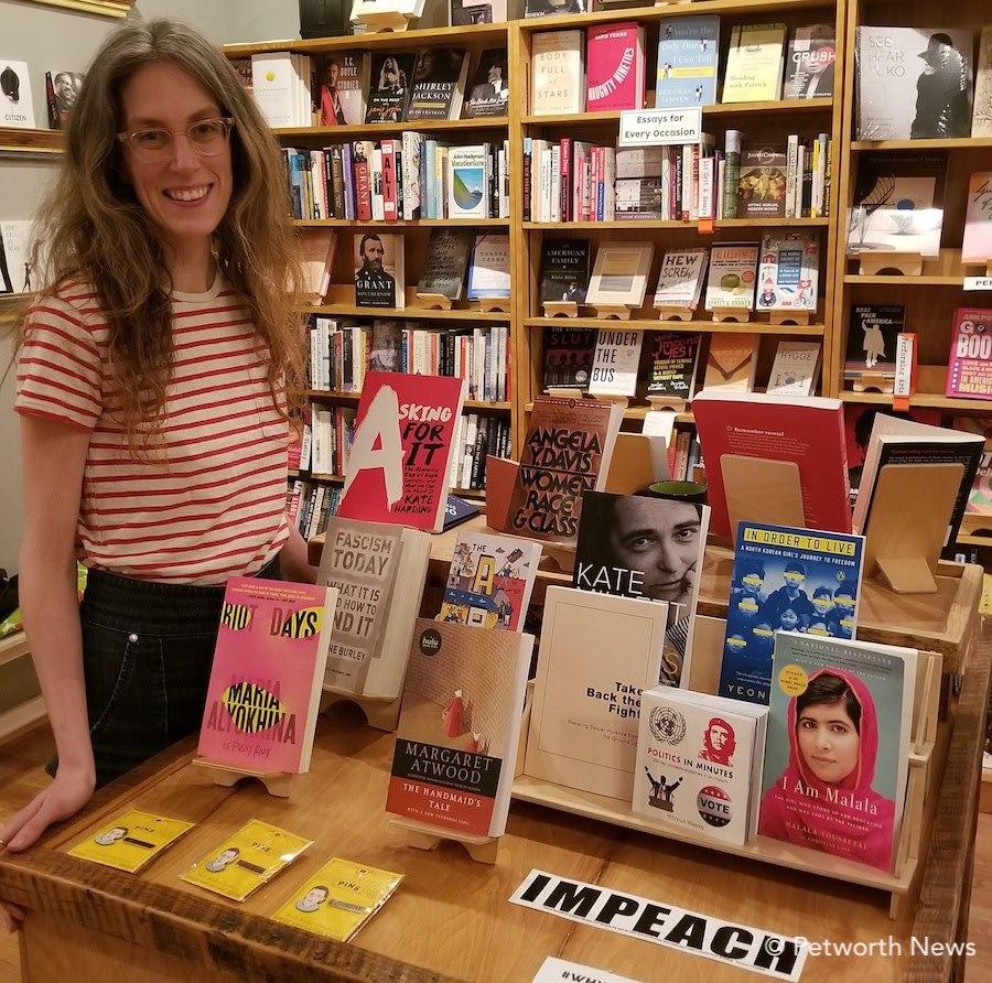 Katie Presley from Upshur Street Books.