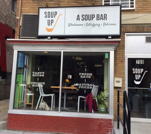 The new soup up at 709 Kennedy Street NW is serving up delicious soups.