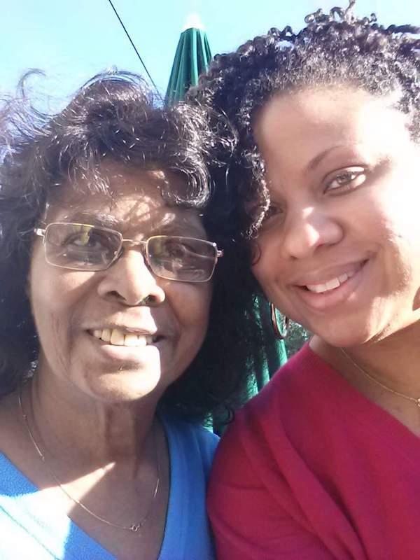 Sandra Gray Bundy and her grand-daughter Cinyon Reed.