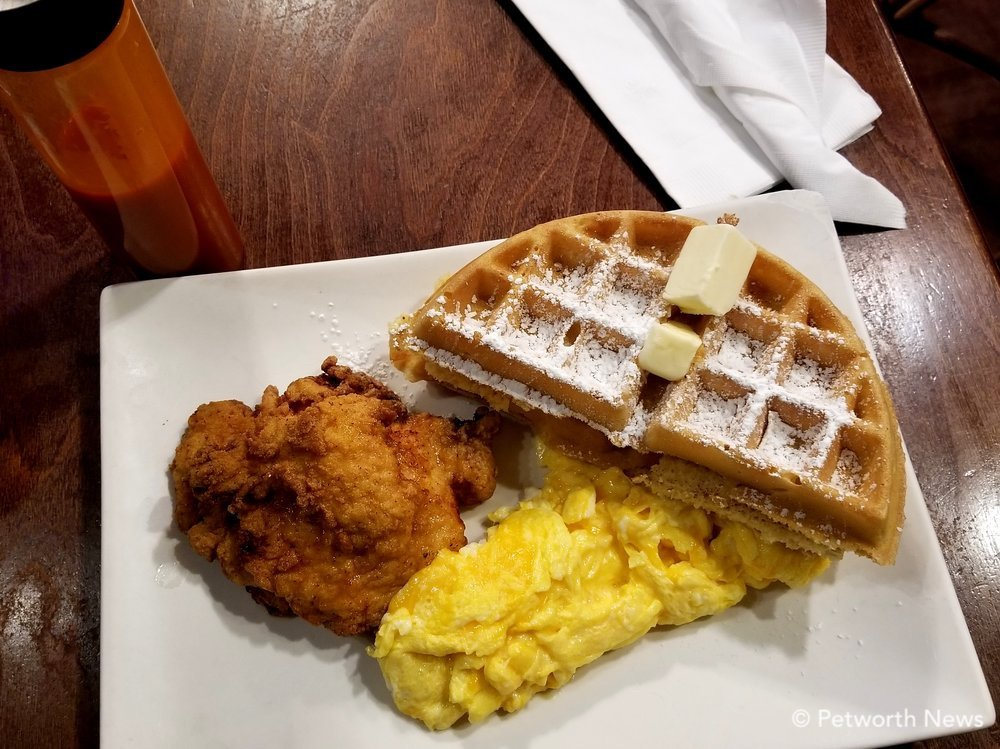 Highlands' signature chicken and waffles