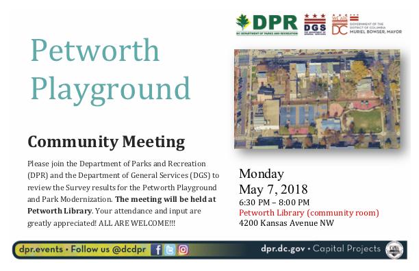 DPR meeting flyer