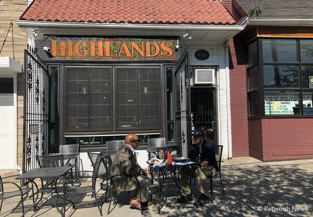Highlands is offering 10% of proceeds on Mother's Day to help a student attend ballet school.