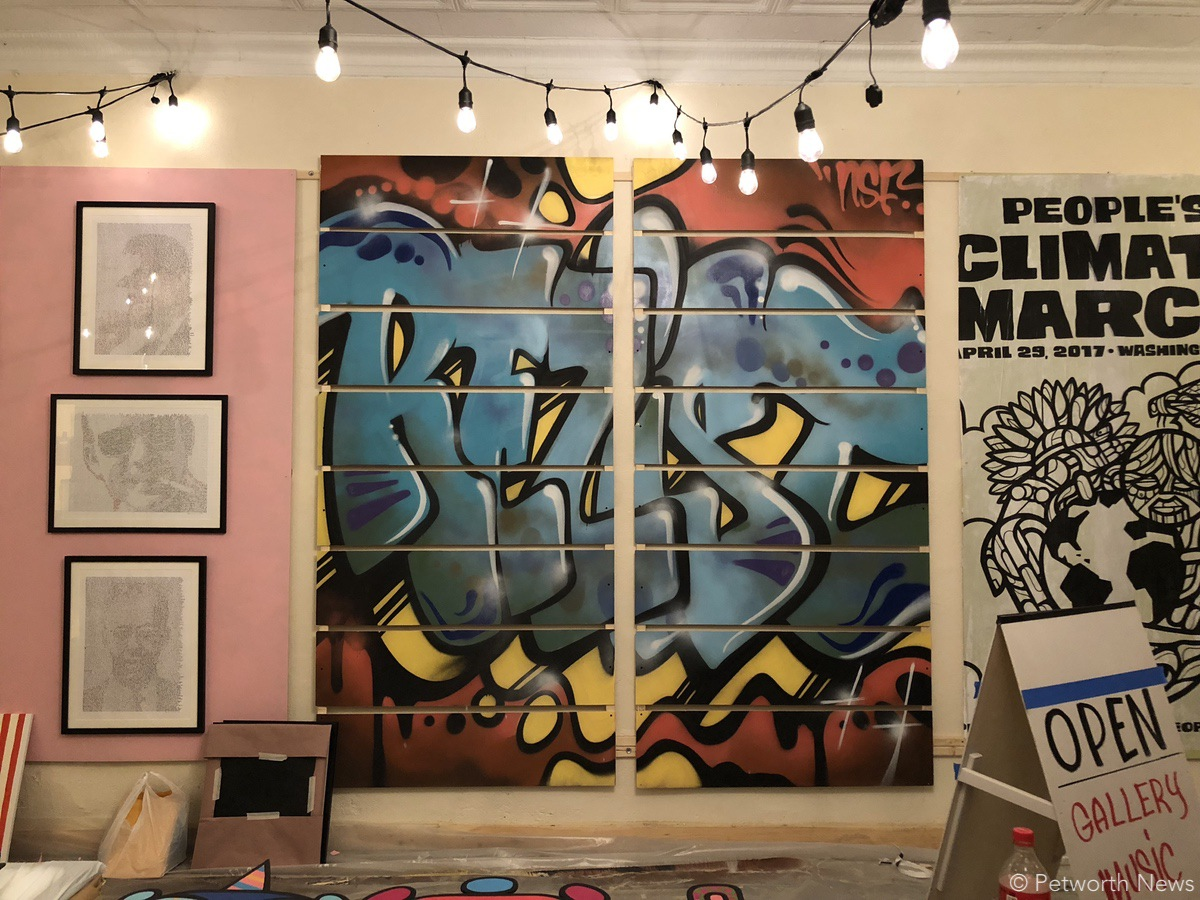 Local artists are on display and up for sale at Truth Among Liars...