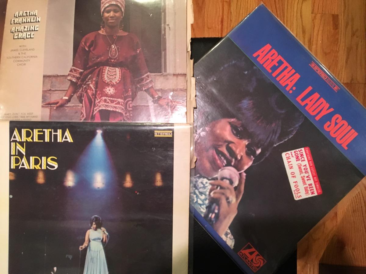 Aretha albums H&R Records Kennedy ST.JPG