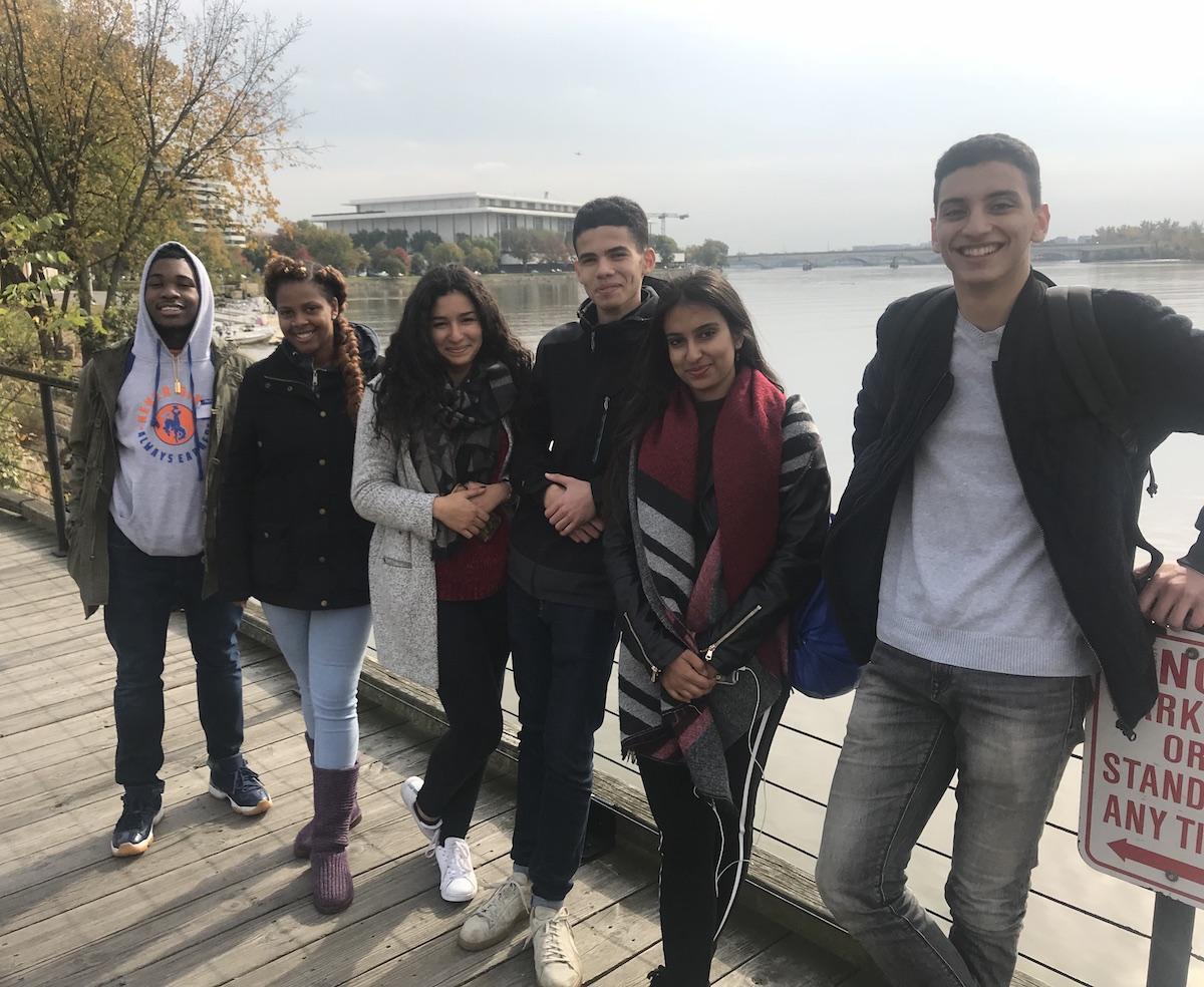 International students attending Roosevelt High School (photo: Roosevelt HS)