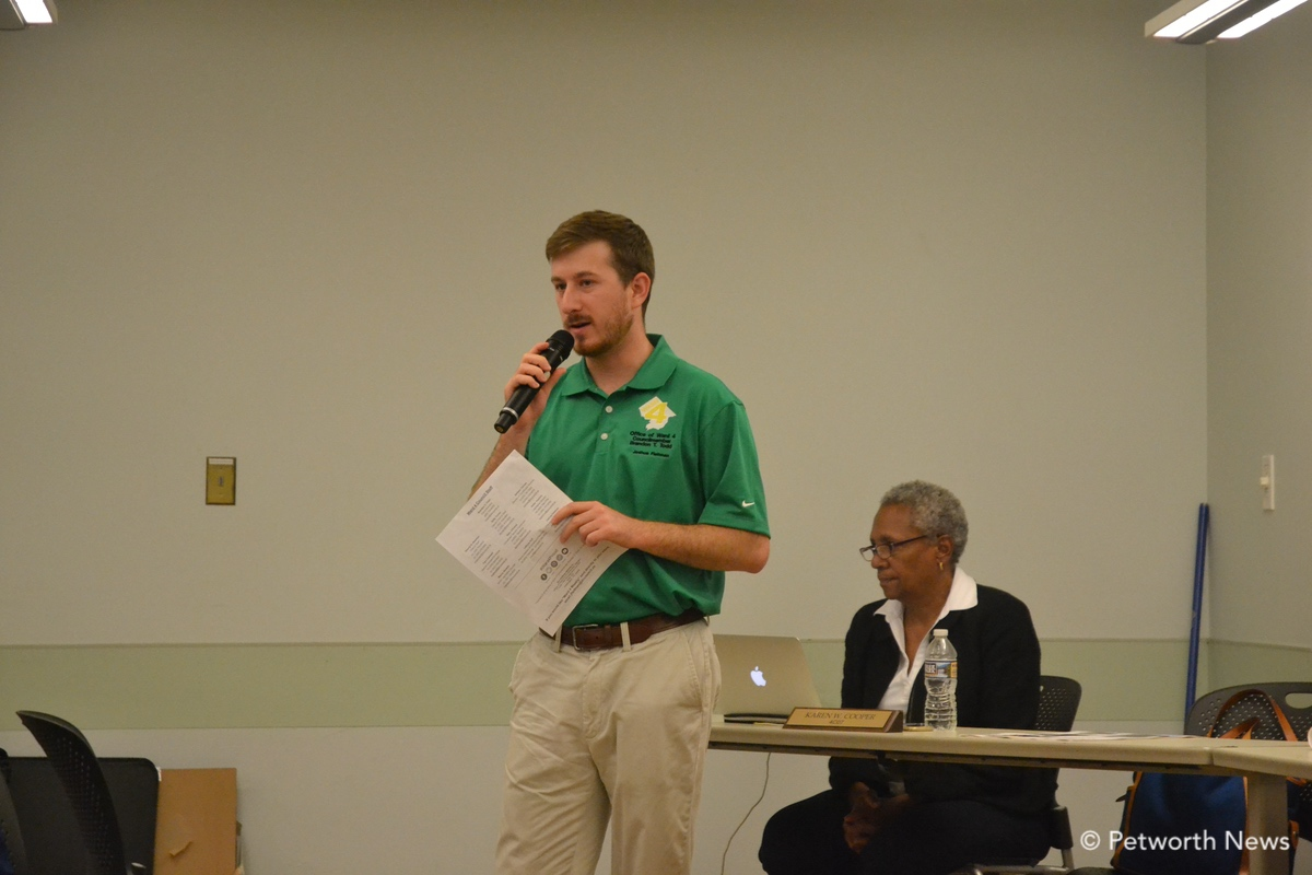 Josh Fleitman, the Director of Communications from Councilmember Todd's office.