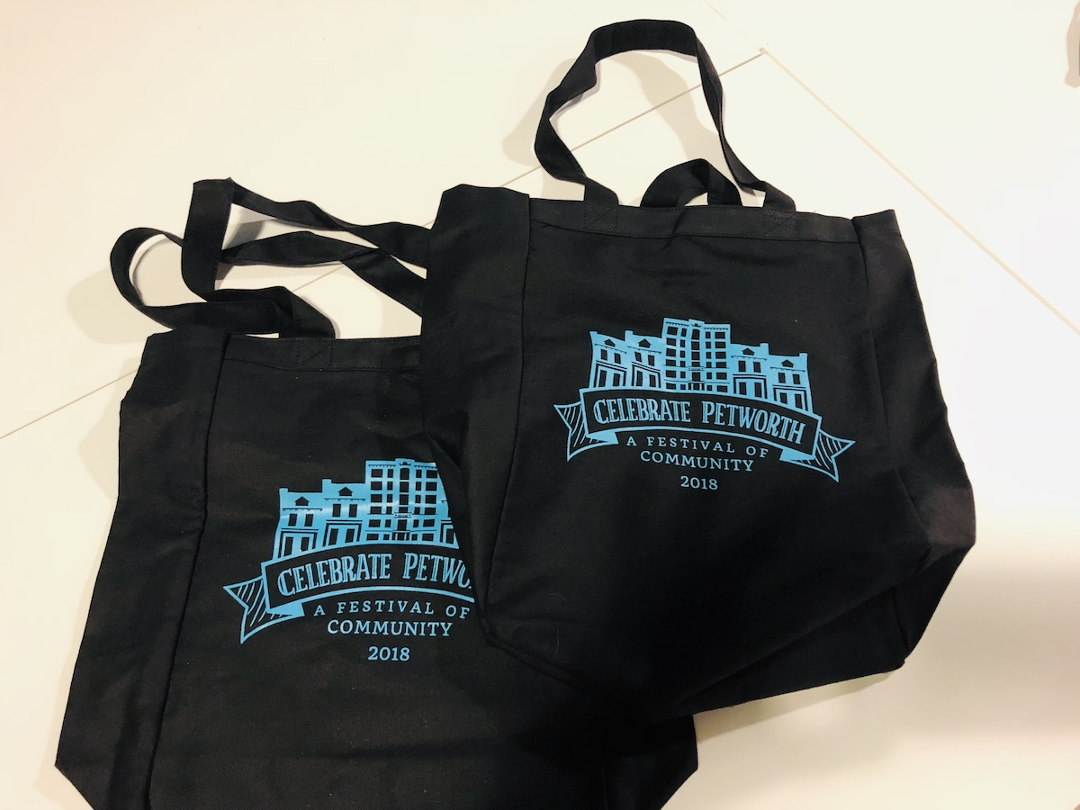 Get a unique, limited-edition Celebrate Petworth shopping bag!